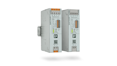 DC/DC converters on the DIN rail