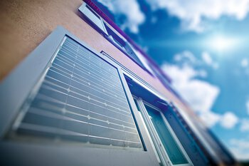 Solar shutters for building-integrated photovoltaics