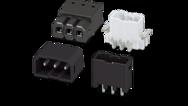 Pas de 2,5mm (embases pour le soudage par refusion (THR) et des composants montés en surface (CMS))