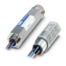 Surge protection for direct connection to sensor heads