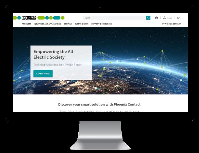 Ihre neue Phoenix Contact-Website – ständig verbessert!