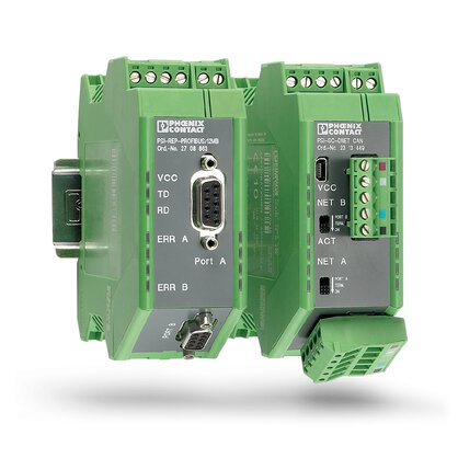 Fieldbus repeaters - for PROFIBUS and RS-485 bus systems