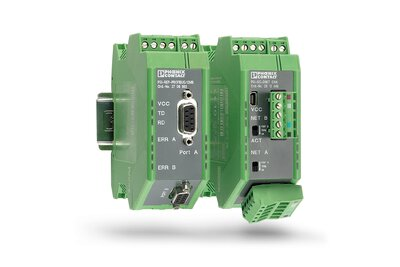 Fieldbus repeaters from Phoenix Contact