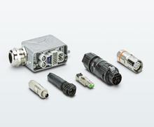 Steckverbinder für den Geräteanschluss und die Feldverkabelung