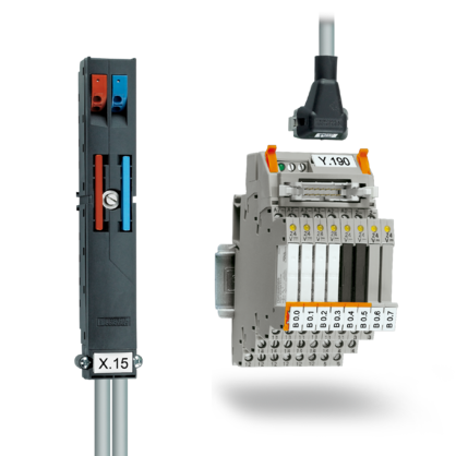 Controller-specific system cabling