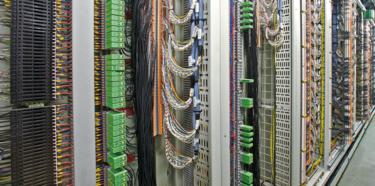 過程系統控制室的接線