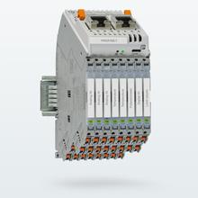 Acondicionadores de señal muy compactos – Conexión de bus y de red modular