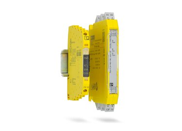 Highly compact safe coupling relays