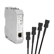 ImpulseCheck mit vier Sensor-Leitungen