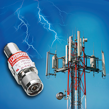 COAXTRAB from Phoenix Contact: Surge protection for transceiver systems