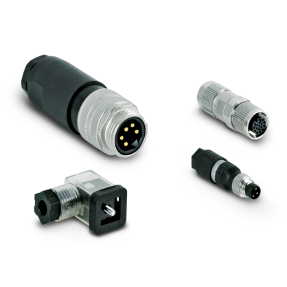 Sensor/actuator connectors