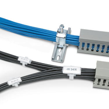 Cable ducts for clear wiring