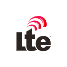Logotipo de Long Term Evolution para la red de radiotelefonía móvil 4G