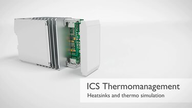 Custom heatsinks for ICS series electronics housings