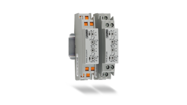 Compact timer relays: ideal for series production and building installation applications