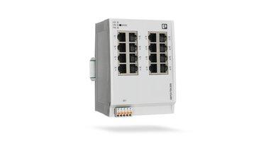 菲尼克斯電氣新推出的用於時間敏感網路的交換器 FL SWITCH TSN 2000
