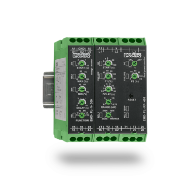 Multifunctional monitoring relays