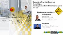Machine Safety Standards Webinar - 20.08.2020