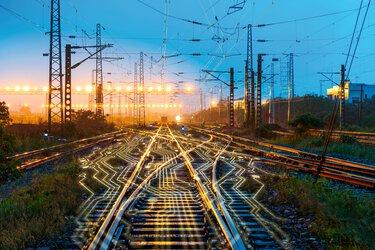 鐵路行業的信號技術數位化