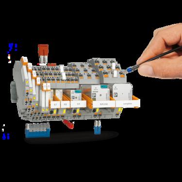 RIFLINE 系列的 RIFLINE 繼電器可輕鬆快速地進行接線