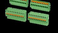 Rozteč 5,0/ 5,08mm (vertikální konektory spřípojkou push-in)