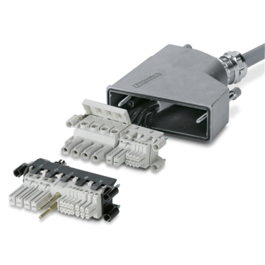 Contact inserts and contacts for rectangular connectors