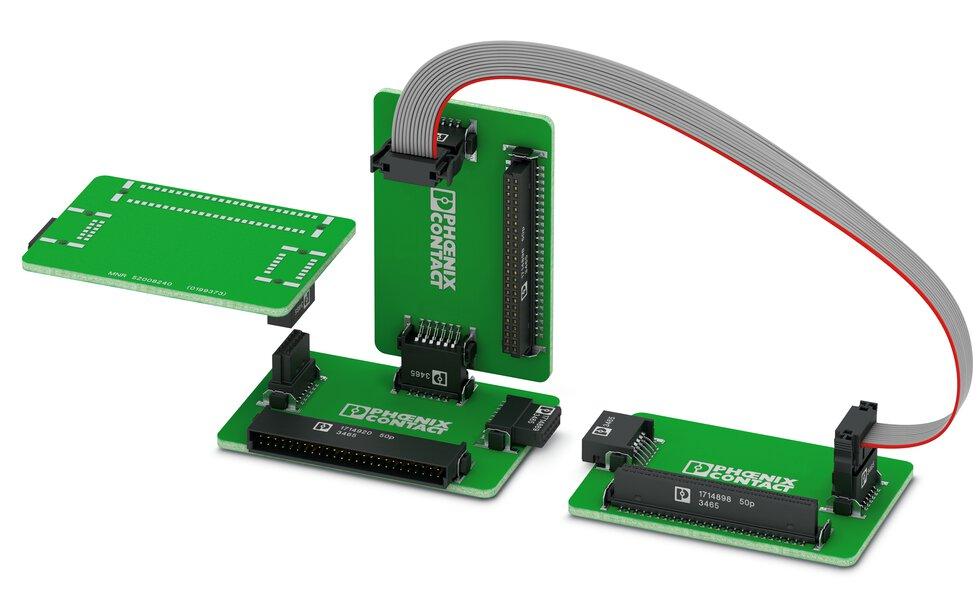 FP 1,27 系列為您提供多種可靠連接設備內部數個 PCB 板的方法