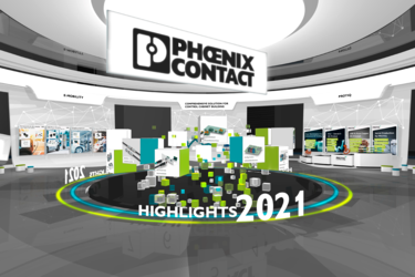 Digital Exhibition Space at the Phoenix Contact Dialog Days