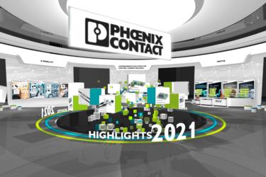 Digital Exhibition Space auf den Phoenix Contact Dialog Days