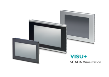 Control panels with integrated Visu+ software