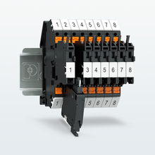 Fuse terminal blocks with Push-in connection – lateral connection for simple protection
