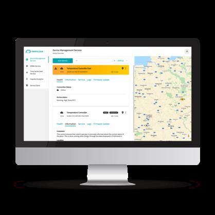 산업 분야의 클라우드 컴퓨팅: Proficloud.io의 스마트 서비스를 통해 장치를 인텔리전트하게 관리하십시오.