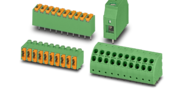 TWIN terminals with Push-in spring connection and with screw connection with tension sleeve