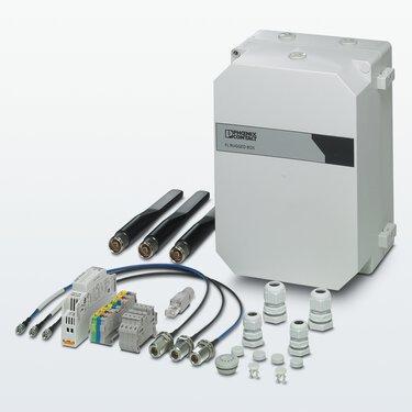 WLAN 5110 액세스 지점용 RUGGED BOX 마운팅 세트