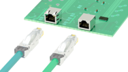 Industrial RJ45 sockets for PCB mounting – for high-performance data transmission