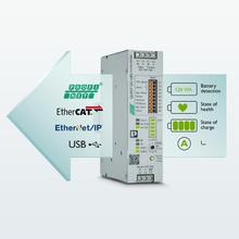 QUINT DC-UPS mit RS232 Datenkabel zum FL COMSERVER