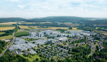 PHOENIX CONTACT Company headquarters in Blomberg, Germany