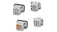 Contact inserts for compact heavy-duty connectors – More safety, thanks to an innovative PE connection
