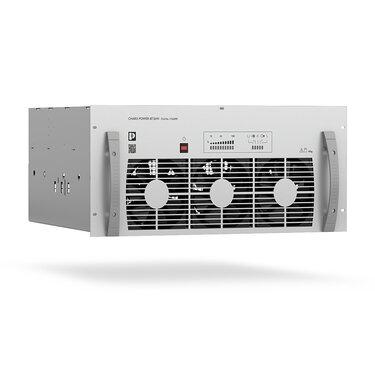 直流功率模組以機架方式組裝到配套的系統機櫃中,以實現直流快速充電站的營運