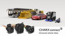 Prise de raccordement côté véhicule CHARX connect