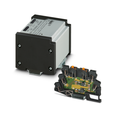 Interference suppression filters with integrated surge protection