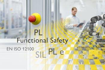 Productielijn met functionele veiligheid