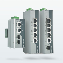 Unmanaged PoE Switches for the DIN rail