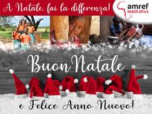Sosteniamo Amref, partecipate all'iniziativa A Natale fai la differenza