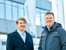 Rainer Kury and Torsten Kocher from Bechtle AG