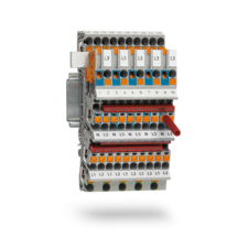 Installation terminal blocks for distribution boards