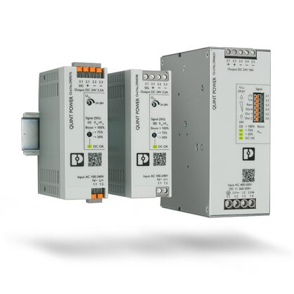 Power supplies with maximum functionality