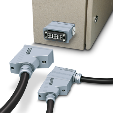 Panel mounting bases and coupling housings for rectangular connectors