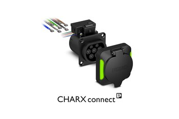 CHARX connect – AC charging sockets for charging stations and home chargers