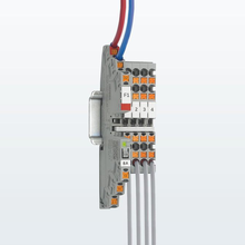 CLIPLINE complete terminal blocks and PTCB electronic device protection